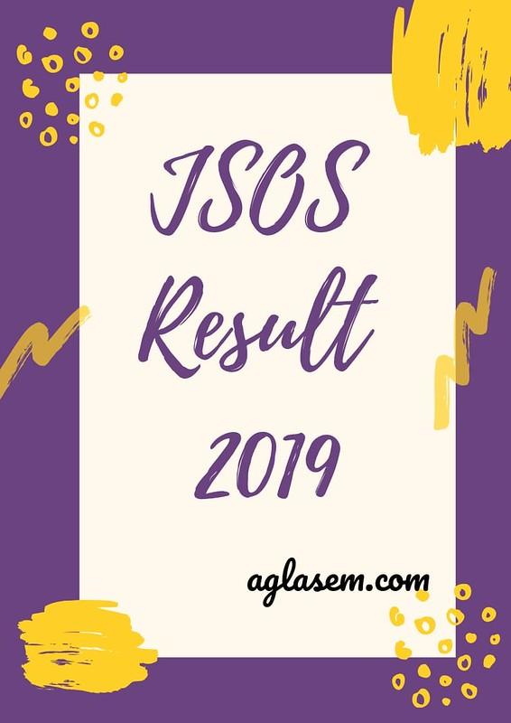 JSOS Result 2019