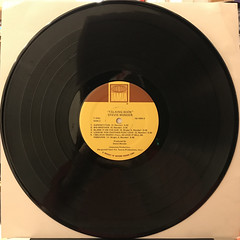 STEVIE WONDER:TALKING BOOK(RECORD SIDE-B)