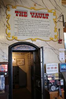 Virginia City Ponderosa Saloon bank vault