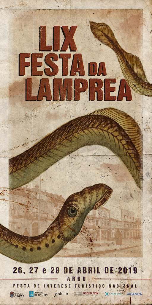 Cartel Festa da Lamprea de Arbo 2019 small