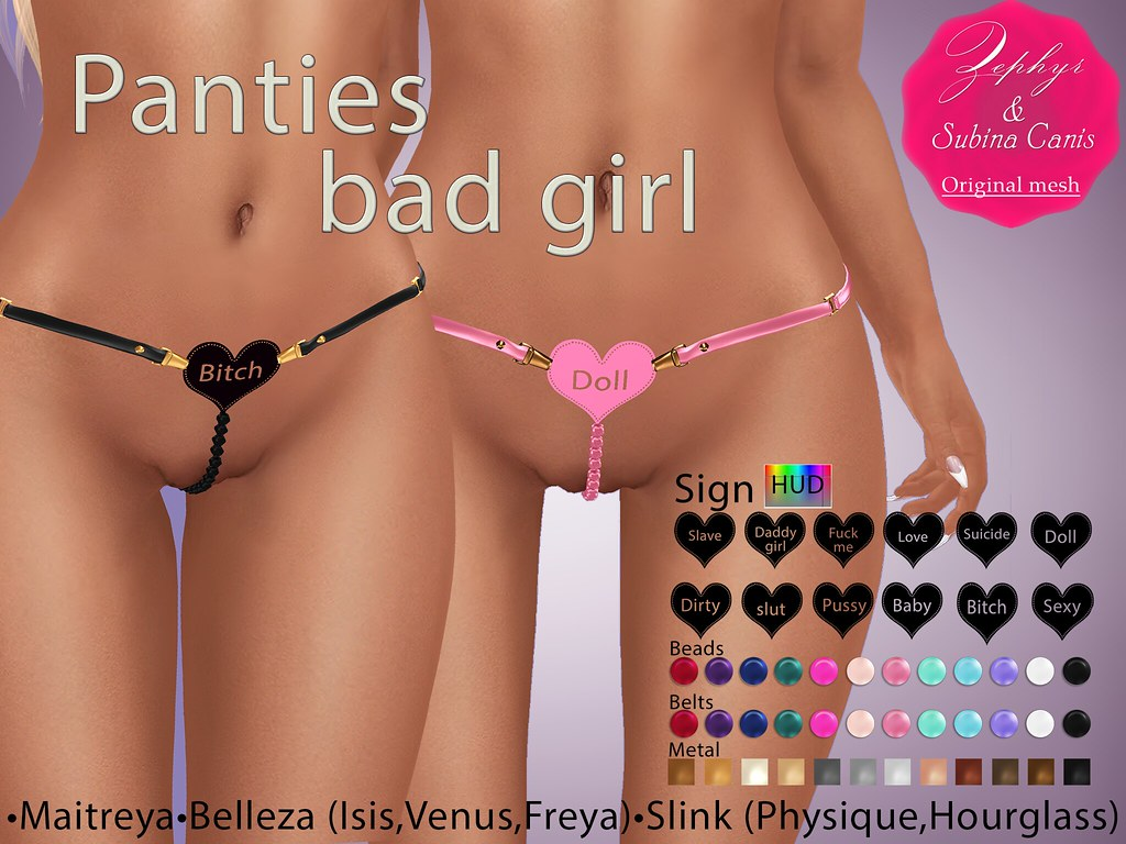 Panties bad girl