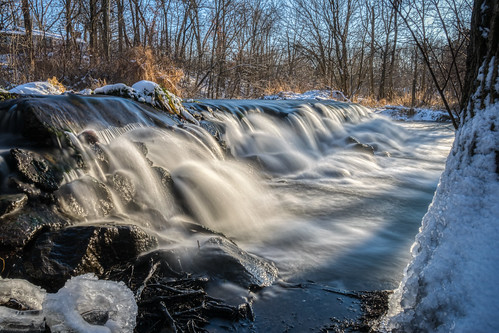 Winter Waterfall #1