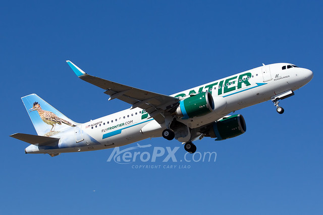 Frontier Airlines Airbus A320-251N - N346FR