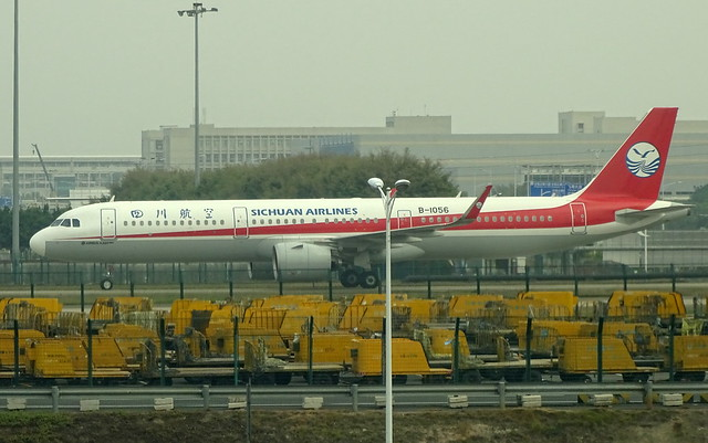 Sichuan Airlines Airbus A321NEO B-1056