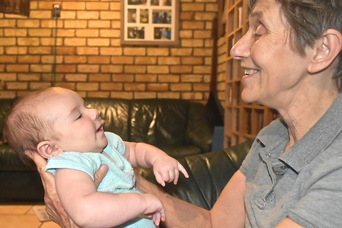 Jill Weaver and grandson Levi 18 Feb 2019