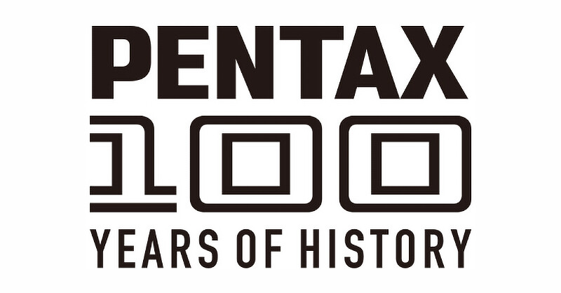 Announcement of PENTAX 100 YEARS OF HISTORY campaign