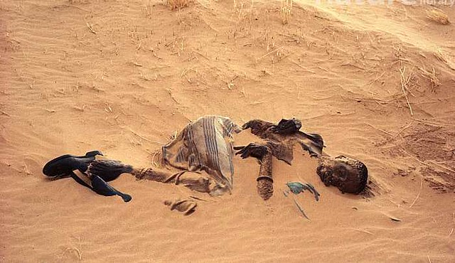 3535 Indian Shepherd died due to Heat and Thirst in the Desert – Buried after 2 years in Buraida 02