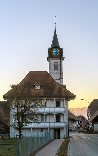 Village Museum Tower Leuzigen