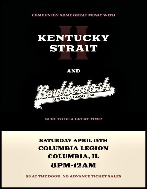 Kentucky Strait & Boulderdash 4-13-19