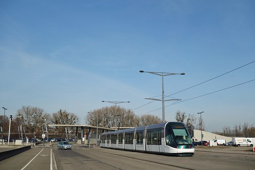 Alstom Citadis 403 n°2002  -  Strasbourg, CTS