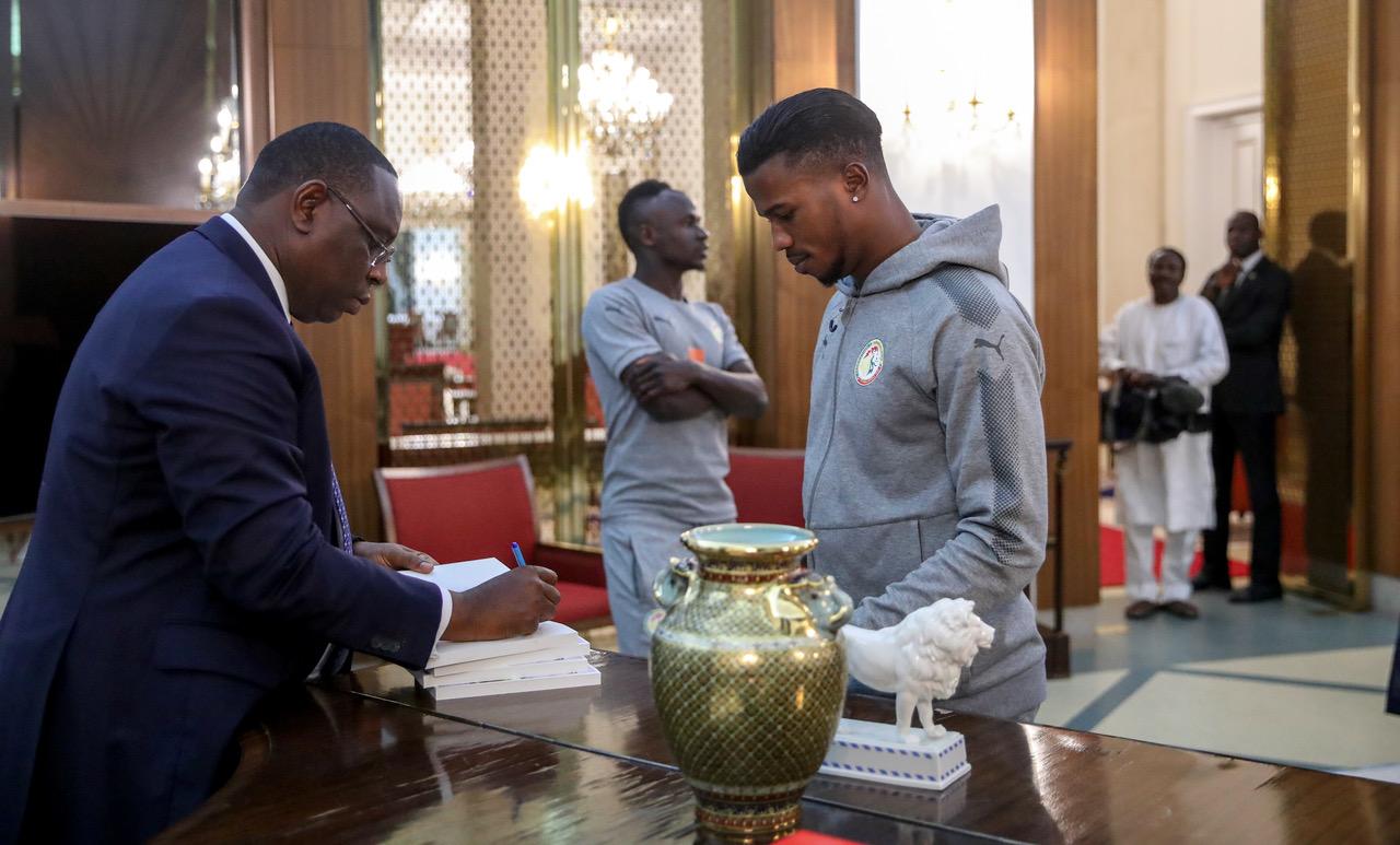 Rencontre avec Sadio Mané et Diao Baldé Keita