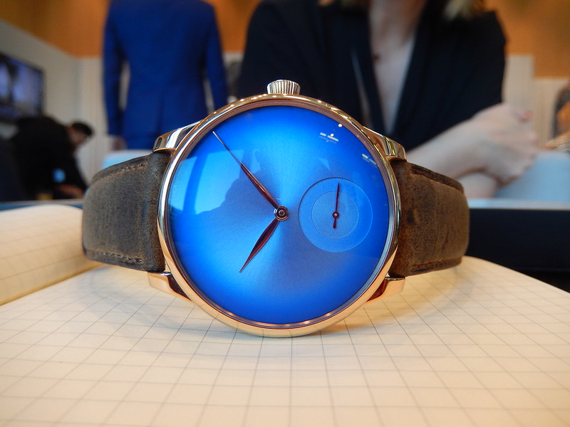 moser - Baselworld 2019 : reportage H.Moser & Cie 47418114212_6f57536161_c