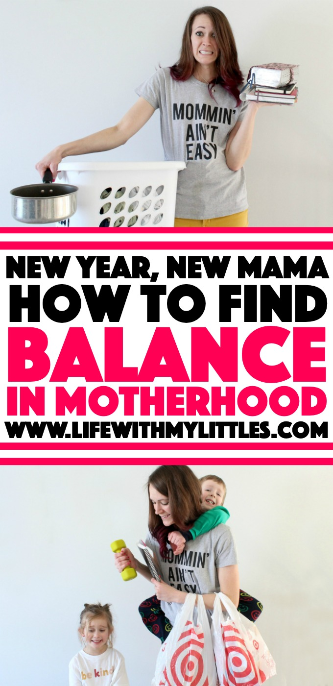 Wondering how to find balance in motherhood? Well, guess what? There's no such thing. Here's why it's a misleading idea and six things you can do instead.