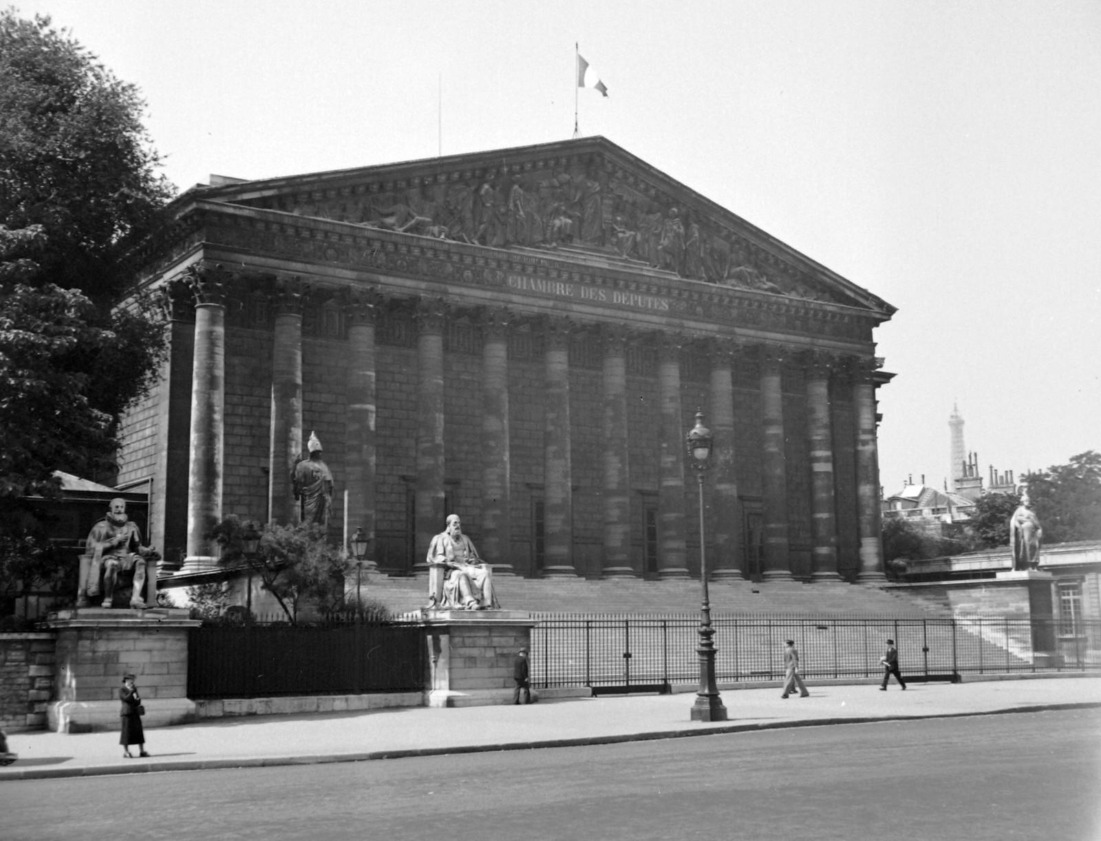 1939. Набережная Орсе, Нижняя палата французского парламент