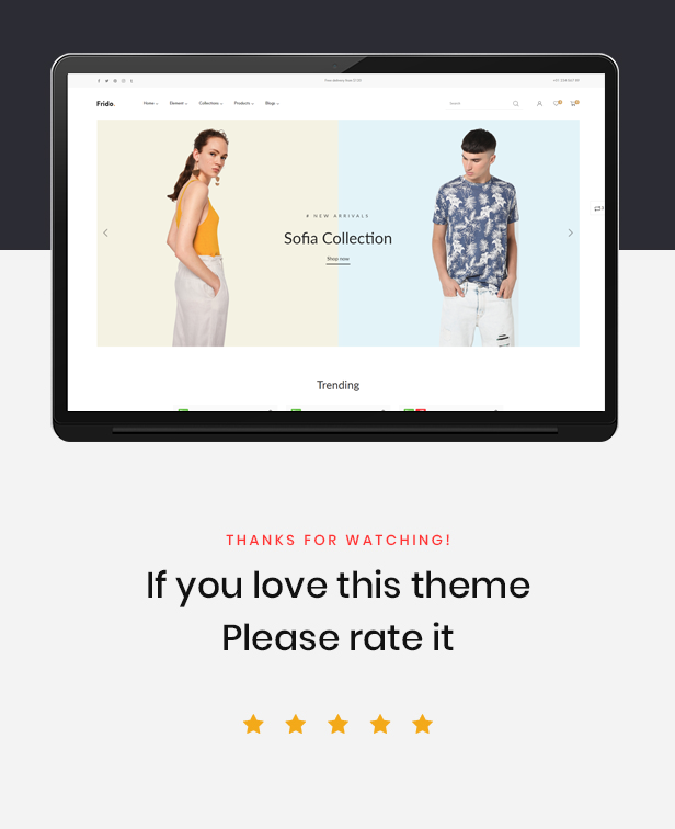 shopify theme premium - best rating