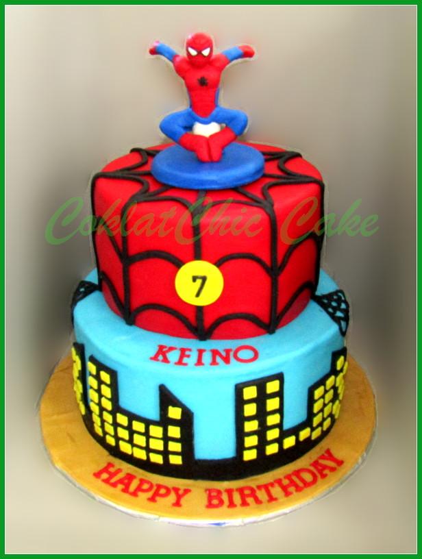 Cake Spiderman KEINO 20/15 cm