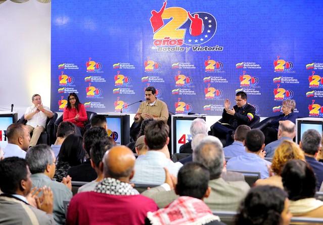 """Nicolás Maduro: """"Dizemos sim ao diálogo para a reconciliação nacional"""""""