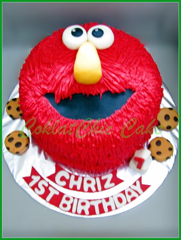 Cake Elmo CHRIZ 18 cm