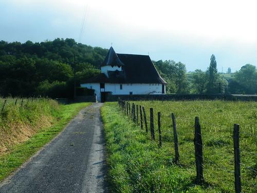 20090602 056 1112 Jakobus Weg Wiese Kapelle