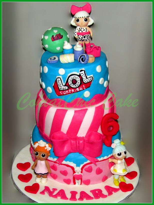 Cake LOL NAIARA 18/15 / 12