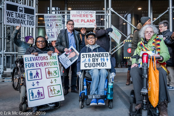 Subway Accessibility Advocates Honor Malaysia Goodson at MTA Board Meeting