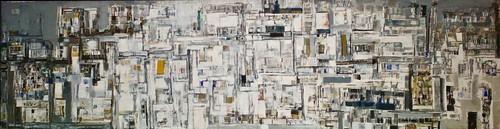 Ville en expansion (c.1970) - Vieira da Silva (1908-1992)