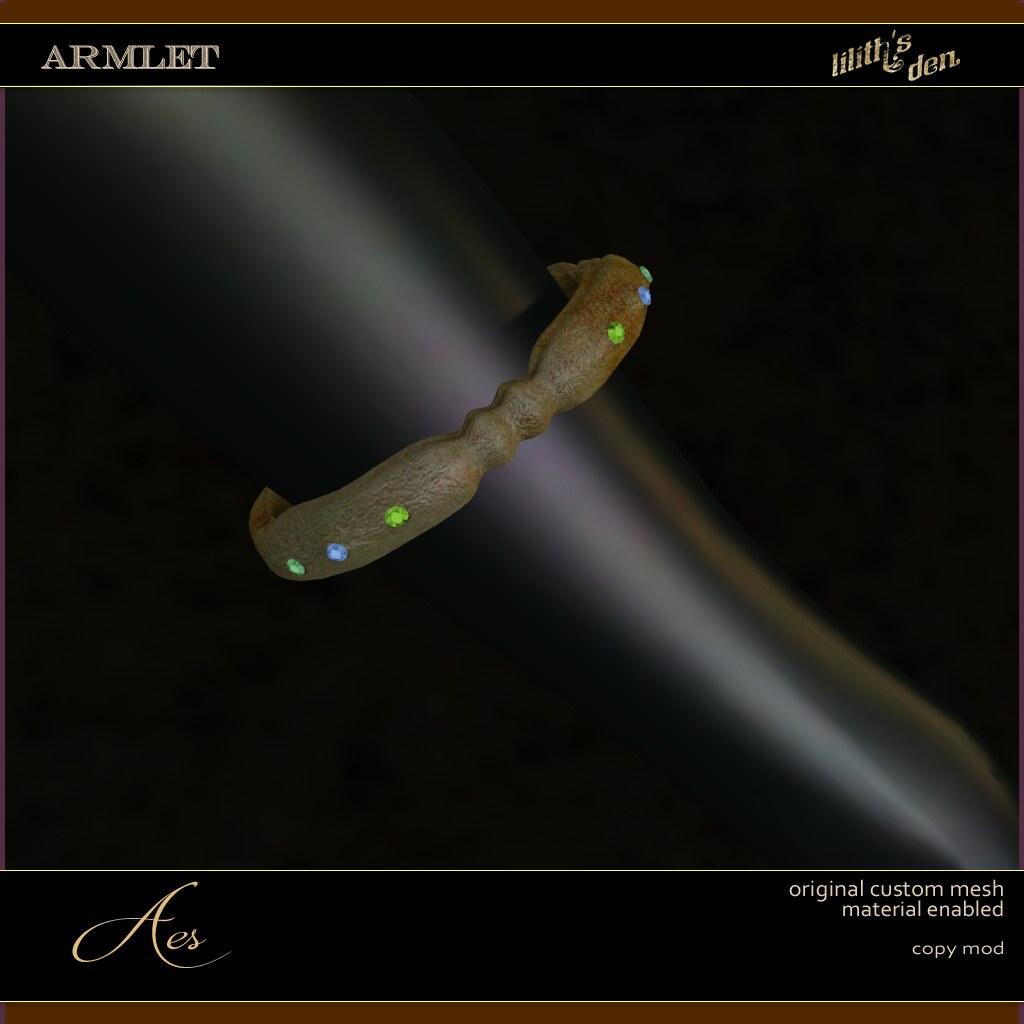 Lilith's Den –  Armlet Aes