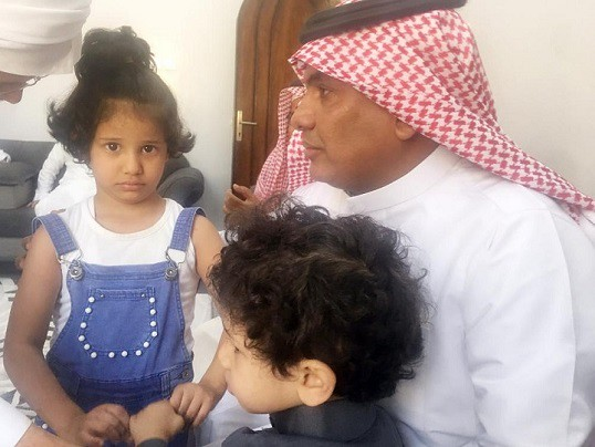 5010 Saudi man who slaughtered his wife in front of her daughters arrested 01