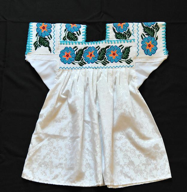 Nahua Blouse Ahuacatlan Puebla Mexico Textiles