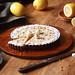 Chocolate Lemon Tart with Hazelnut and Meringue Cookies by Мiuda