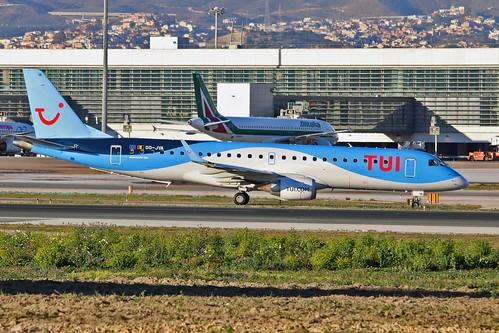 OO-JVA Embraer 190-100STD TUI Belgium AGP 05-02-19