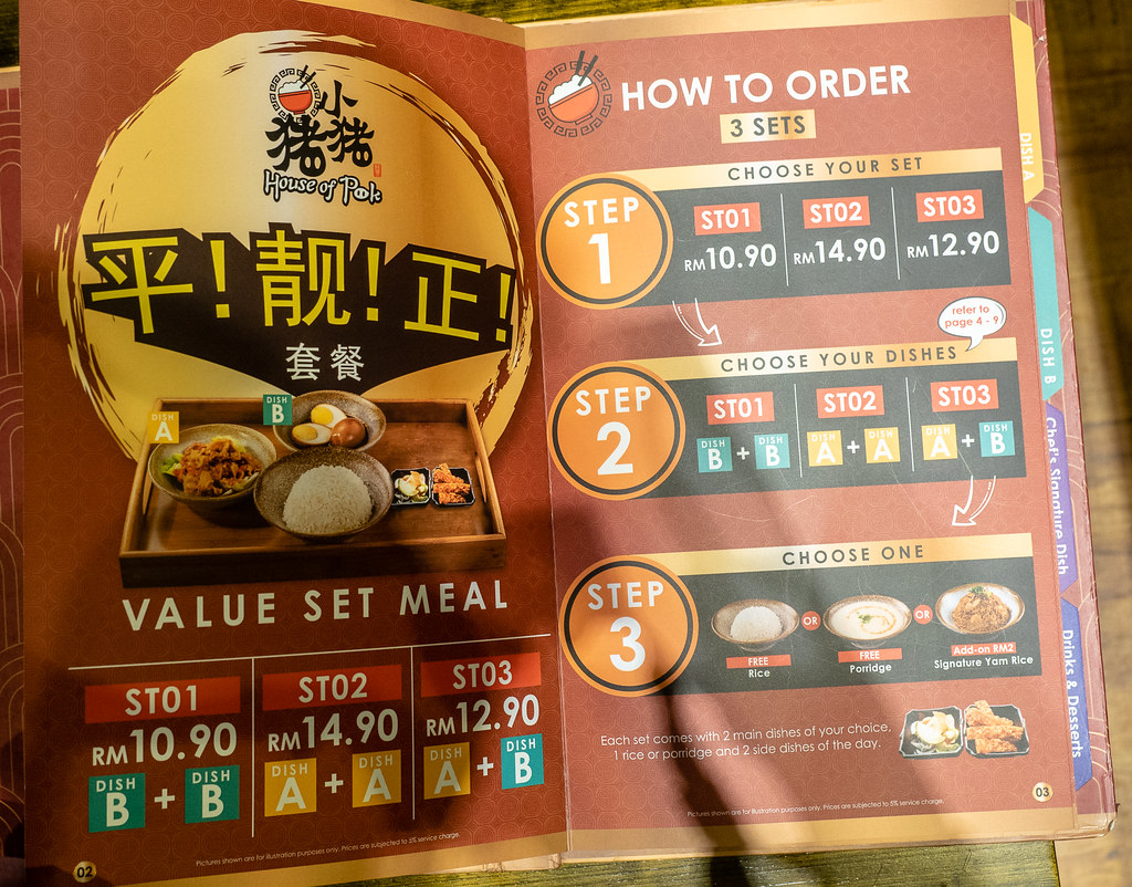A guide to order the Value Set Meal