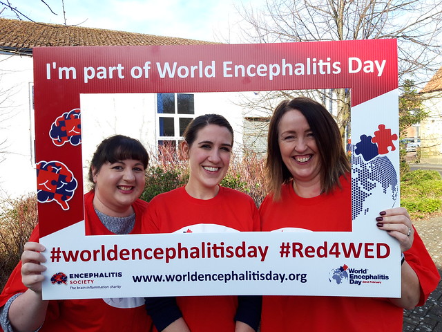 #Red4WED World Encephalitis Day 2019