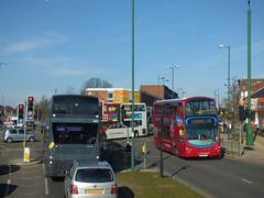 Bus Jam - Bristol Road South, Northfield