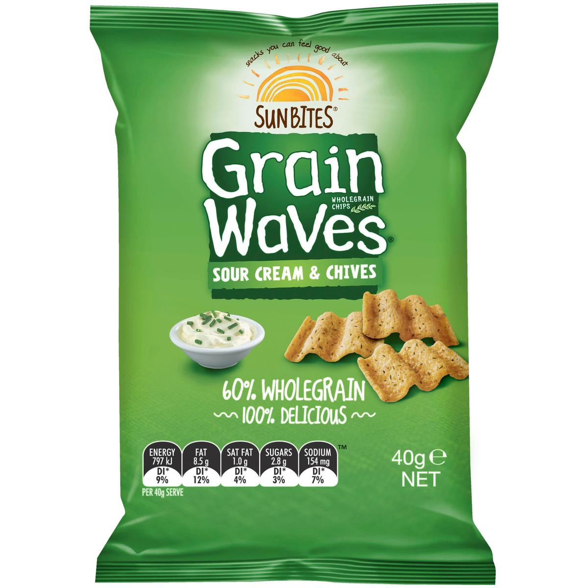 Sunbites grain waves