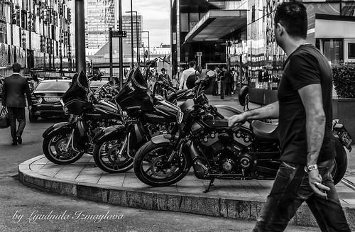 Rhythm of the modern city