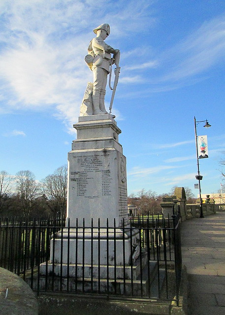 Boer War Memorial, Shrewsbury