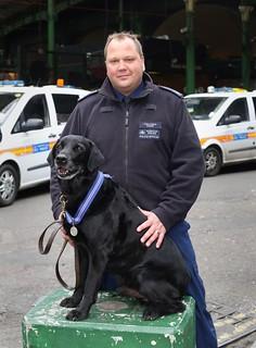 PD Dave PDSA medal winner