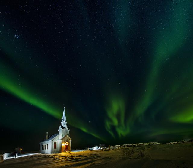 Nesseby church - VJ3_7535, Nikon D850, AF-S Zoom-Nikkor 14-24mm f/2.8G ED