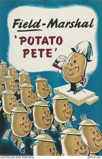 Field-Marshal 'Potato Pete'