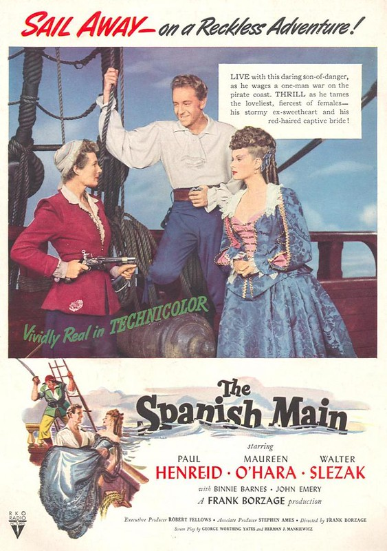 The Spanish Main - Poster 1