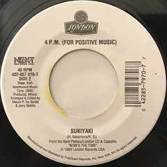 4 P.M.(FOR POSITIVE MUSIC):LAY DOWN YOUR LOVE(LABEL SIDE-B)