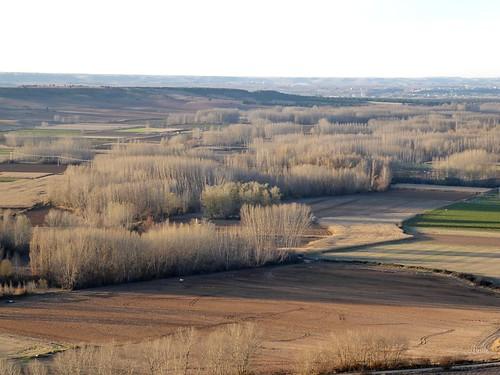 Haza (Burgos-España). Vista desde Haza