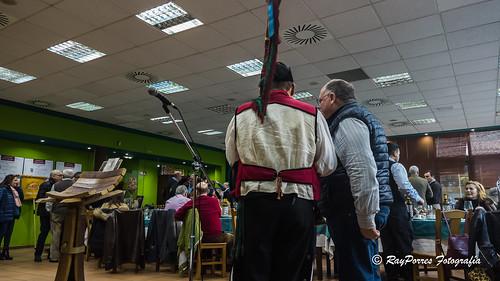 Jornadas del Pulpo A Feira 2019. Cofradía Gastrónomos del Yumay. Aviles, Principado de Asturias, España.