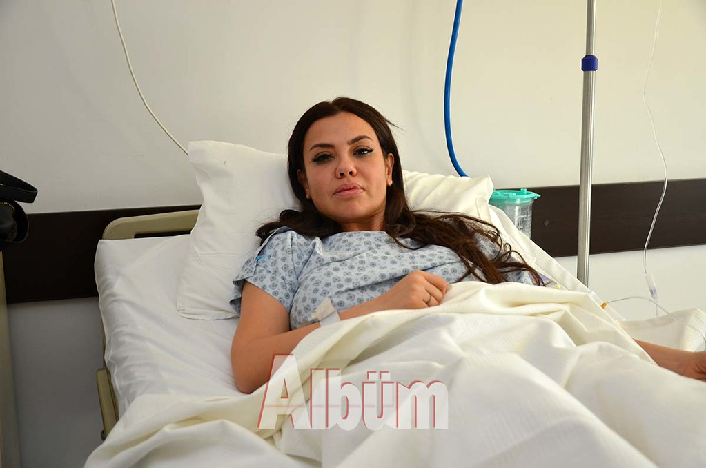 Lara Alanya'da hastaneye kaldırıldı