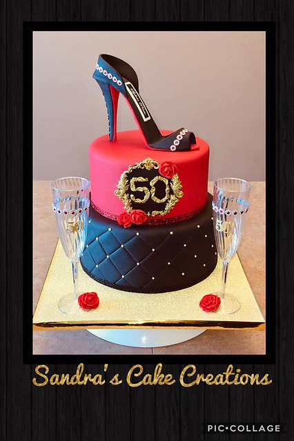 Cake by Sandra Morello of Sandra's Cake Creations