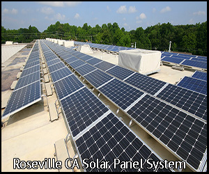 solar panel system in Roseville