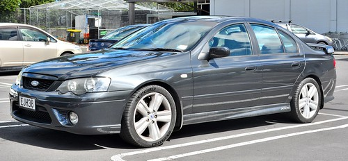 2008 Ford Falcon BF2 XR6T 6FA