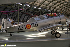 C.6-155-421-35---121-41833---Spanish-Air-Force---North-American-SNJ-5-Texan---Madrid---181007---Steven-Gray---IMG_1924-watermarked