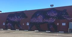 Oakland, CA: Murals & Street Art - Dimond, Laurel Heights and other smaller neighborhoods